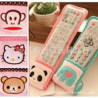 卡通可爱小象 熊猫 猴子 kitty 轻松小熊 大象空调电视遥控器套