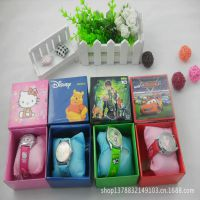 迪士尼卡通 创意儿童盒装手表 礼品 生日礼物 学生奖品 文具批发