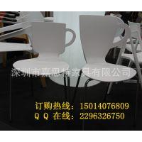 出口品质白色塑料椅 西餐厅 咖啡厅聚丙烯PP餐椅批发