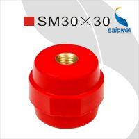厂家直销 绝缘子 SM绝缘子 SM30红色绝缘子 铜绝缘子