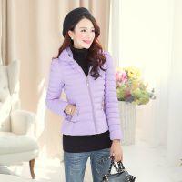 2014冬装新款 代理加盟 韩版气质修身棉服棉衣外套 枫之玲051579