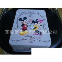供应特级马口铁盒包装、食品级马口铁盒包装、经典精美米奇老鼠饼干铁罐生产厂家|丰元制罐