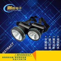 东莞头灯厂直供 led可充电头灯 锂电池充电 强度防雨割胶头灯