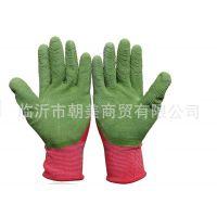 皱纹挂胶手套 耐磨手套 涂胶手套 防滑手套 劳保手套 浸胶手套