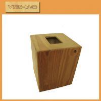 供应 实木家居装饰礼品 木质家用纸巾盒 实用餐桌纸巾盒摆饰