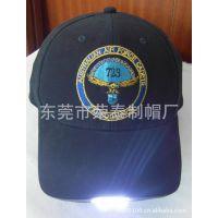 LED灯发光棒球帽 2012热销帽子 运动帽 帽子 专业生产帽子厂家