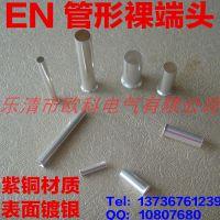 厂家直销EN25-16管形裸端头 GT铜压接管 冷压接线端子 接线鼻子