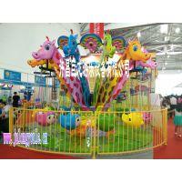 儿童小飞椅(长颈鹿小飞椅)游乐设备-许昌巨龙游乐