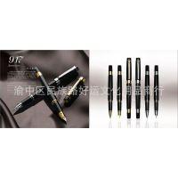 毕加索钢笔PS-917罗马情缘铱金笔 银夹 金夹 毕加索917钢笔