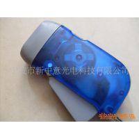 工厂生产批发 无电源手压发电手电筒 3LED手压灯