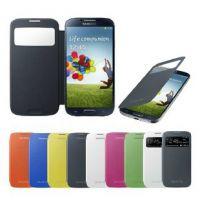 i9500 S4 精仿版1:1 智能开屏 带休眠 拆电池盖皮套 三星手机后盖
