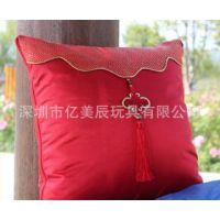 加工定制广告抱枕被 平安纯棉抱枕 汽车靠垫 空调被 家居沙发摆饰