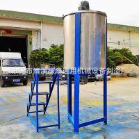 供应热销洗洁精搅拌机/树脂搅拌机/304不锈钢搅拌桶 化工原料设备