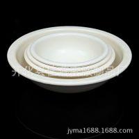 纯白密胺仿瓷餐具大汤碗饭店装饭碗