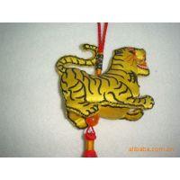 LOGO定制 立体生肖  端午香囊 促销礼品 儿童挂件  中国结 刺绣