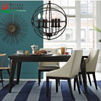 美式乡村吊灯客厅卧室餐厅吊灯铁艺个性咖啡厅北欧吊灯具