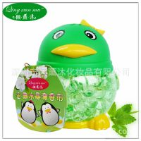 QQ大企鹅空气清新剂 倾薰沐308g水晶香珠空气净化剂 超市卖场热卖