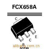 中功率NPN硅平面高压晶体管FCX658ATA