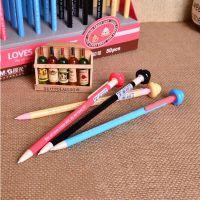 晨光文具 活动铅笔 疯狂便便AMP84008 黑 0.5 卡通学生自动笔正品