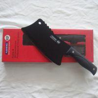 【第二代】美国抗菌不沾刀,黑碳钢刀,德国冰点刀