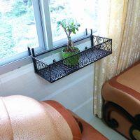 创意挂阳台花架种菜花盆架户外壁挂栏杆花架多层护栏植物架