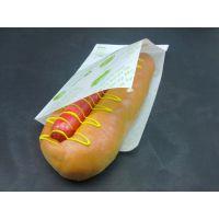 供应批发一次性 长方形随手包袋 泡芙点心三角纸袋 热狗包装盒食品袋10000只