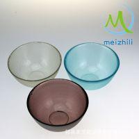 批发厨房用具玻璃碗 耐热玻璃碗 紫色 餐具 来源于天然