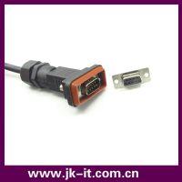 专业生产 d-sub 9pin 防水连接器 plc接线板 接线端子