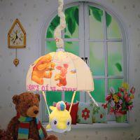 中山灯具照明吊灯批发 卡通布艺吊灯 卧室装饰 儿童房间灯饰1600