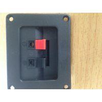 厂家直销2位接线端子音响配件高端接线盒,接线夹家庭影音专用