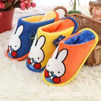 正品Disney迪士尼立体头像男童冬季新款米妮宝宝家居棉拖鞋14997