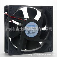 供应厂家优势替代ABB变频器散热风扇24V1.2A5000RPM12038四线风扇