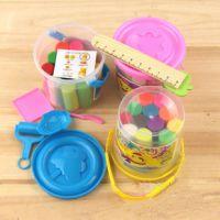 G15 儿童益智玩具 彩色橡皮泥批发 桶装12色橡皮泥彩泥