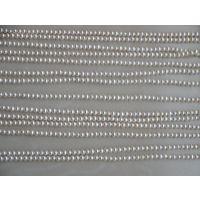 天然淡水珍珠2-3强光小珍珠项链散珠批发 diy半成品