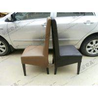 生产PU皮面料餐厅包厢椅子 中式简约酒店餐厅餐椅  MH-CY-28