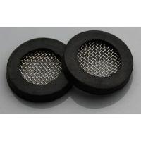 淋浴软管过滤网 橡胶垫过滤网 密封圈 防堵 不锈钢 橡胶垫片
