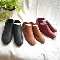 例外江南布衣同款潮范休闲新款套脚女鞋小羊皮平口鞋平底鞋皮鞋