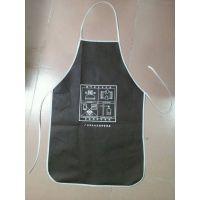 供应广州订做广告围裙,围裙用什么材质,无纺布围裙印刷