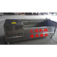 土豆清洗去皮机|土豆清洗机厂家|土豆初加工设备|汇鸿HQX-1200