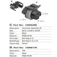 优势供应 12065298 德尔福 连接器