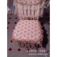 供应 金线梅系列 台布桌布 餐椅坐垫 十三件套批发