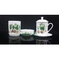 供应办公用品茶杯三件套价格及图片