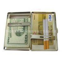 友情推荐 高档女士烟盒 香烟品牌烟夹 金属盒子 可定做加印广告
