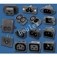 供应电源插座 各国插座 八字插座 品字插座 米老鼠插座