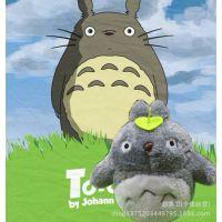 高档宫崎骏动画龙猫小号公仔挂件娃娃毛绒玩具布娃娃玩偶生日礼物