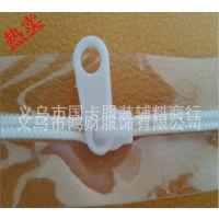 【智才厂家】拉链厂家大量供应透明PVC拉链 黑白色均有现货