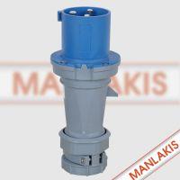 北京代理经销上曼电气MANLAKIS 63A 3芯 TYP1227 特价优惠