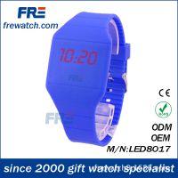 外贸超薄LED触摸屏手表便宜礼品手表批发 硅胶手表 新款超薄
