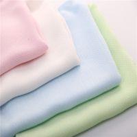 竹纤维婴儿纱布方形接口水的围嘴兜巾 A类竹纤维宝宝吸汗的围嘴兜