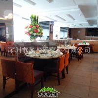多多乐家具订做火锅各式餐饮家具,大理石火锅桌,不锈钢金属椅子